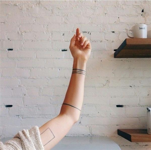 Gợi ý hình xăm vòng tay đẹp dành cho nữ (Phần 1)