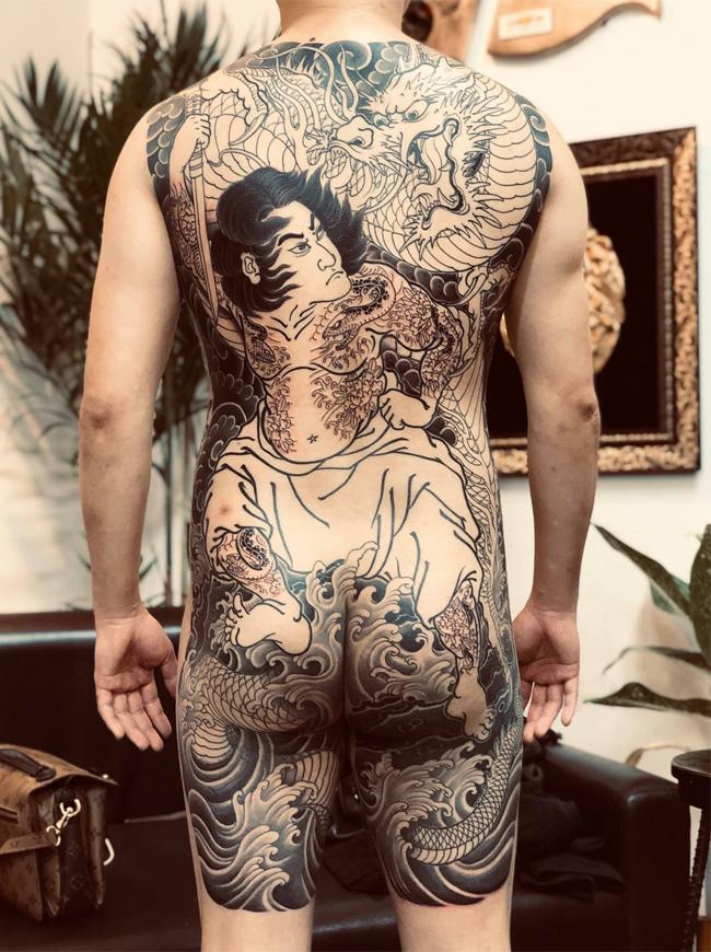 Nghệ sĩ xăm hình Nguyễn Trung Kiên