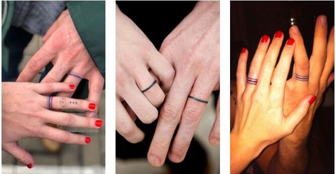 57 hình xăm nhẫn cưới độc đáo